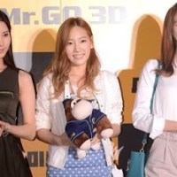 SNSD's Taeyeon, Seohyun and YoonA at the VIP Premiere of 'Mr. Go'