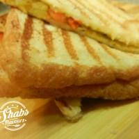Aloo Baji Sandwich ~  5 min Recipe