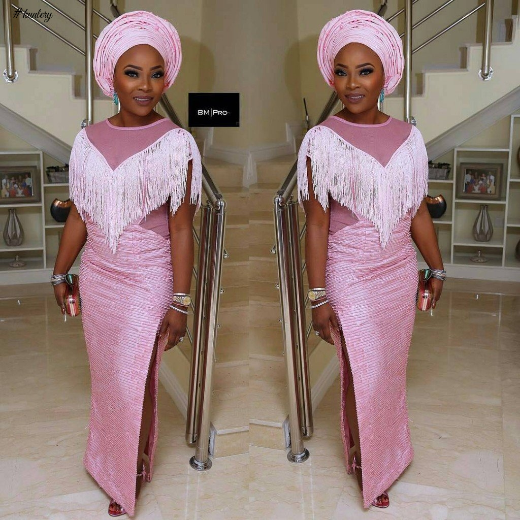 Image result for trendy aso ebi styles 2017