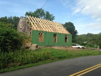 new walls, new roof