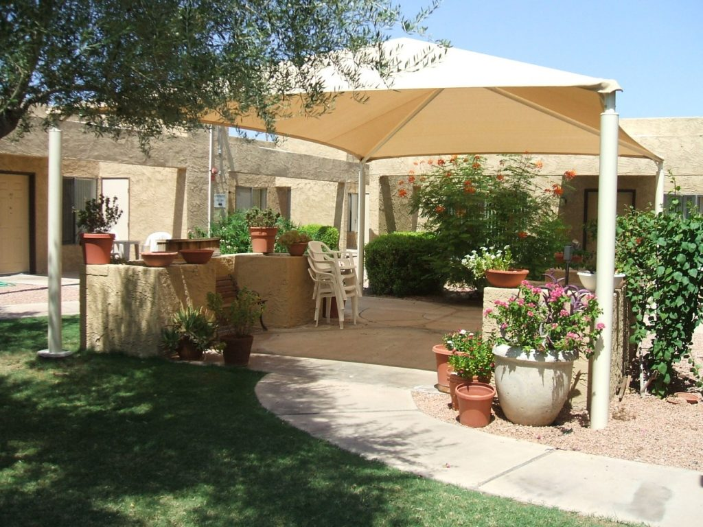 patio shade structures shade n net