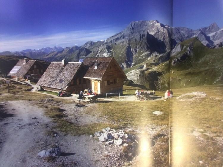 refuge de la Valette from book
