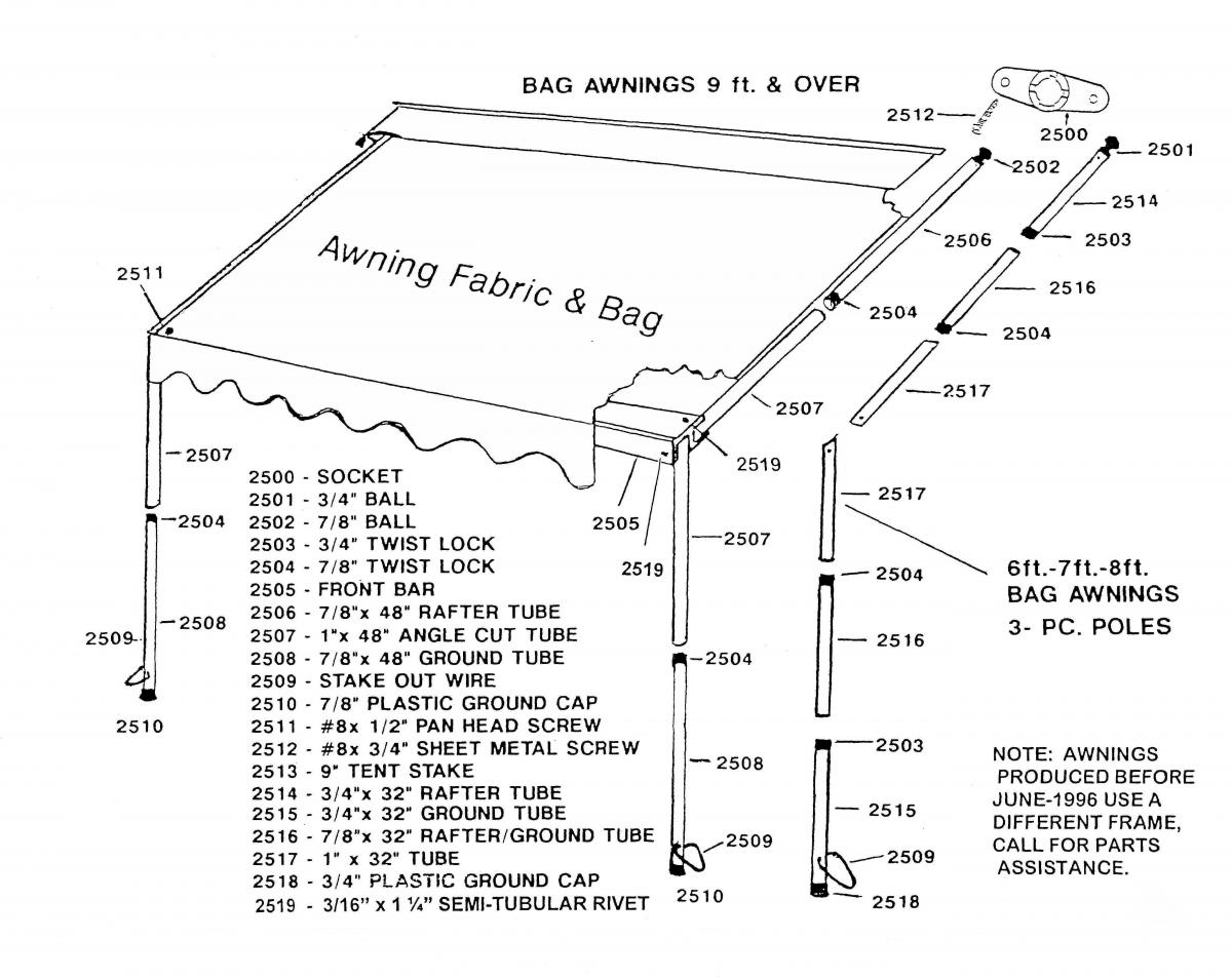 Dometic Power Awning Parts Diagram, Dometic, Get Free