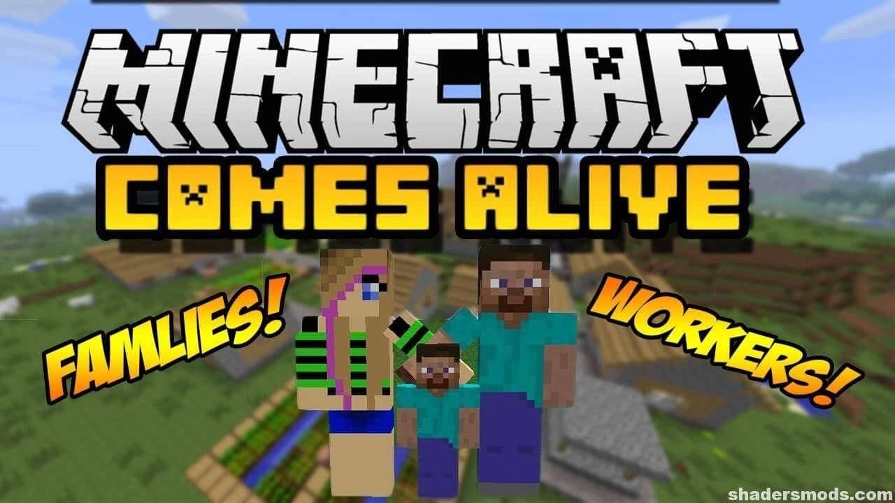 minecraft-comes-alive-1