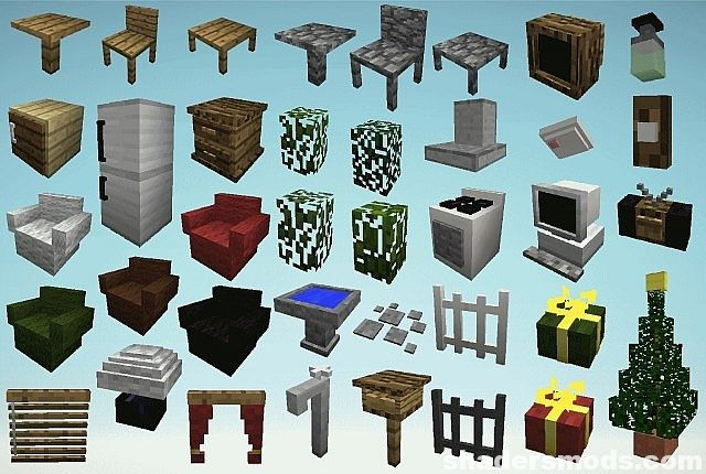 MrCrayfishs Furniture Mod for Minecraft 112211121102