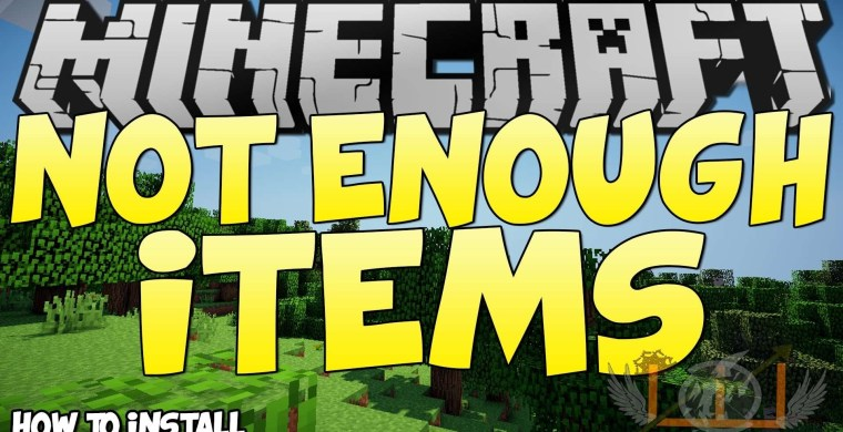 Not Enough Items Mod for Minecraft 1.12.2/1.11.2/1.10.2