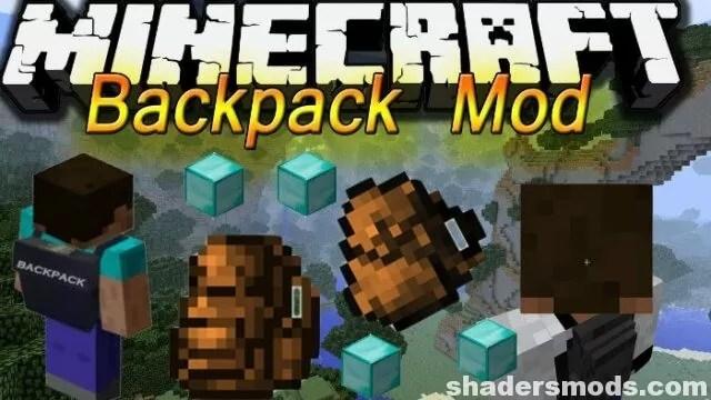Backpacks Mod for Minecraft 1.12.2/1.11.2/1.10.2