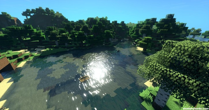 Sushi Shader for Minecraft 1 12 2/1 11 2   Shaders Mods