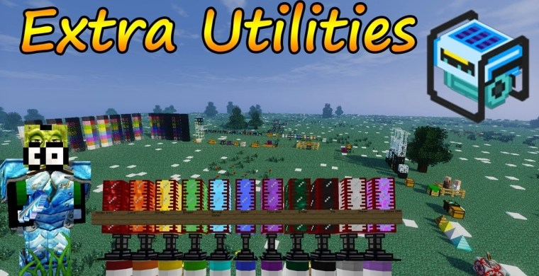 Extra Utilities Mod for Minecraft 1.12.2/1.11.2