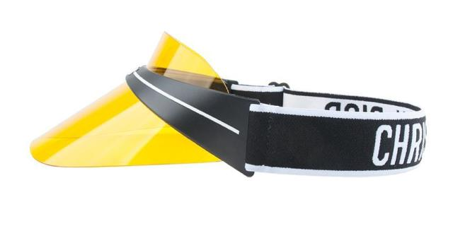 yellow diorclub1 visor