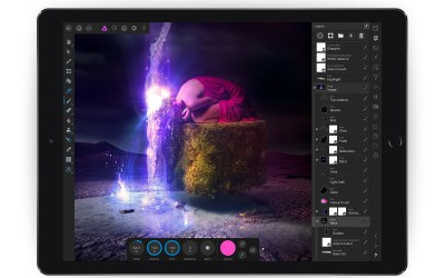 Affinity Photo for iPad got strong improvements