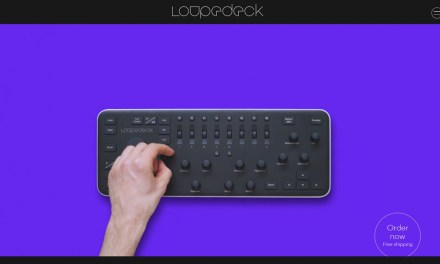 Loupedeck editing console for lightroom