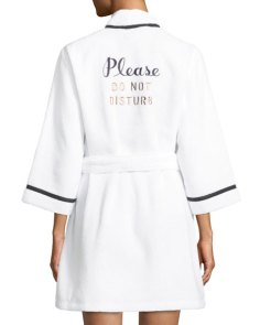 kate spade do not disturb bath robe