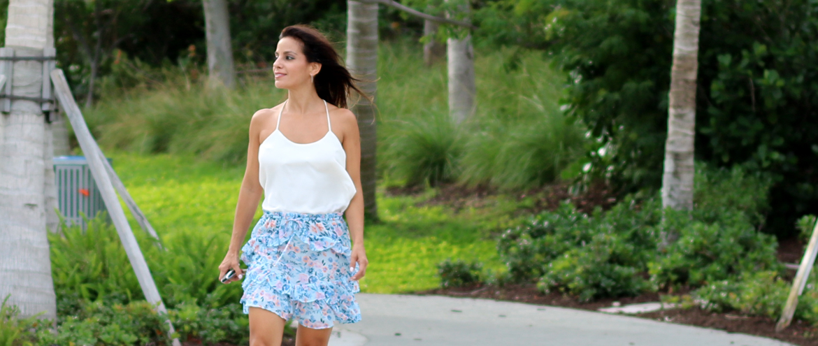 Crushing on Cutest Ruffle Skirt For Every Day