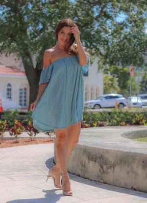 Kinsey Off the Shoulder Dress