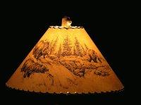 Shades of Nature - wildlife lamp shades
