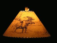 moose lamp shade Gallery