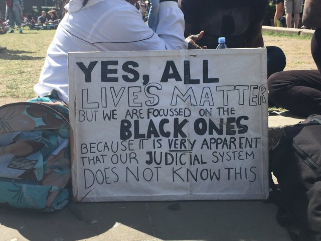 Charisse's #BlackLivesMatter post