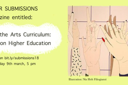 Submission – Decolonising the Arts Curriculum: Perspectives on Higher Education