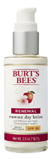 burt's bees firming lotion