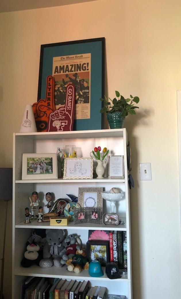 Small Apartment Bookcase | Shades of Sarah