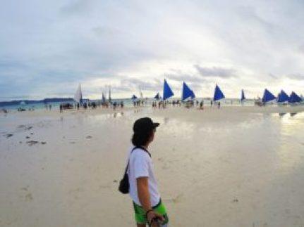Boracay crowded
