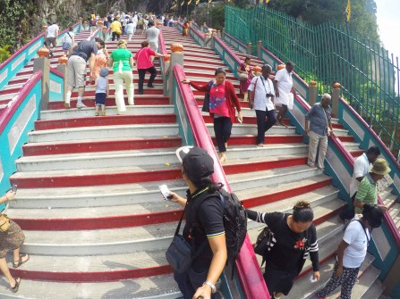 Batu Caves 272 steps