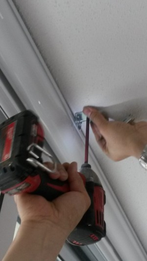 Drilling into Ceiling