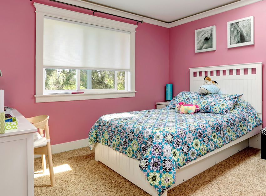Blackout Honeycomb shades for nursery