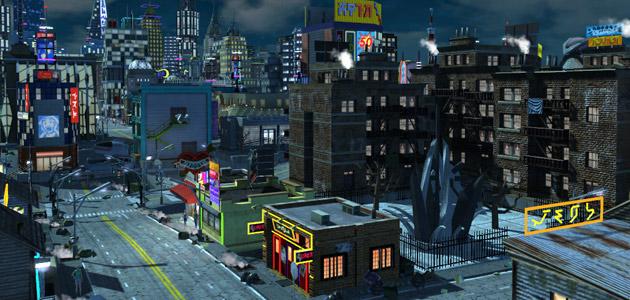 Cyberpunk City  SHADE YATES  Game Design