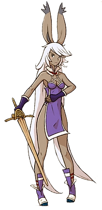 Totally inspired by the Viera race, I'll admit. Image from the Final Fantasy Wikia page, via Google.
