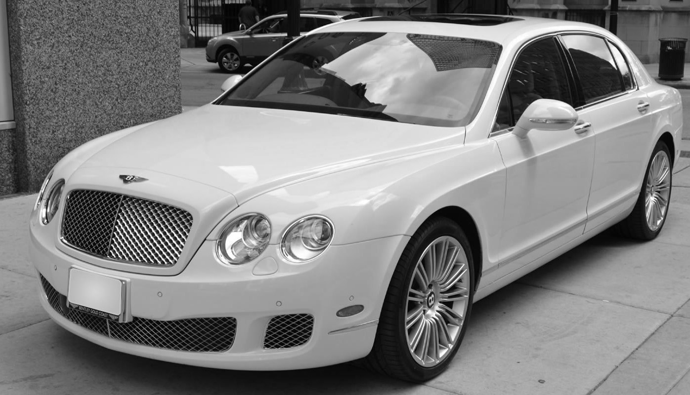 Bentley Flying Spur at Shadow Carriage, luxury exectutive chauffeur driven car service