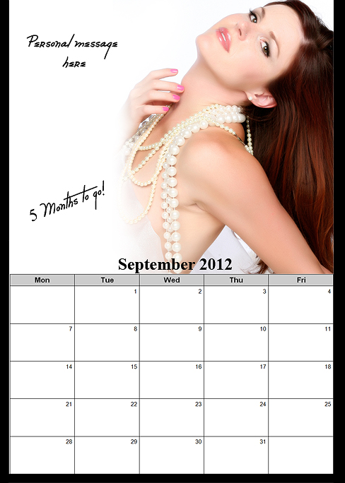 Deployment Homecoming Countdown Calendar for him OR for her!~ San Diego Boudoir Photographer (6/6)