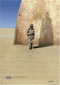 Anakin with shadow of Darth Vader.