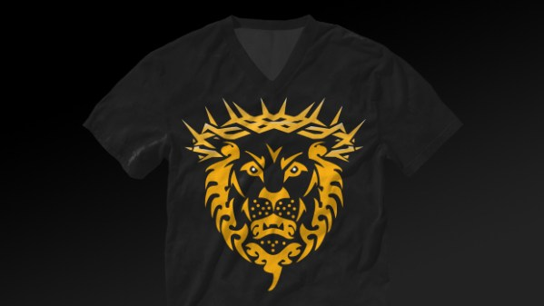 Unashamed Athletes Lion TShirt Shadow Design