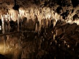 The Caverns is very wet and floods several times a year when the Meramec River rises.