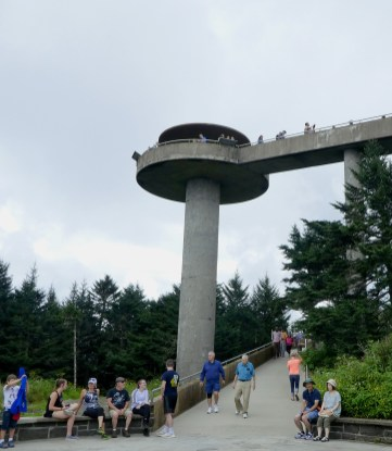 Tower at Clingmans Dome