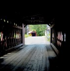 Multiply covered bridges on the Scenic Byway