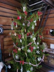 a Pioneer Christmas Tree