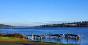 Our view of Lake Washington