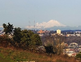 Mt Baker in the background
