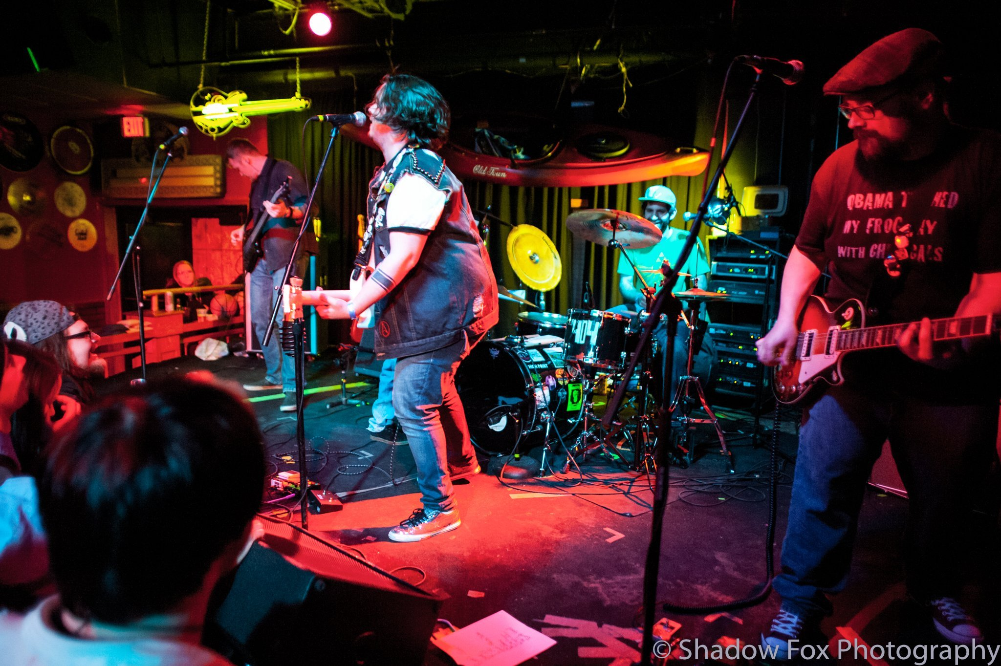 404 playing at their CD release show at Spicoli's in Waterloo, Iowa
