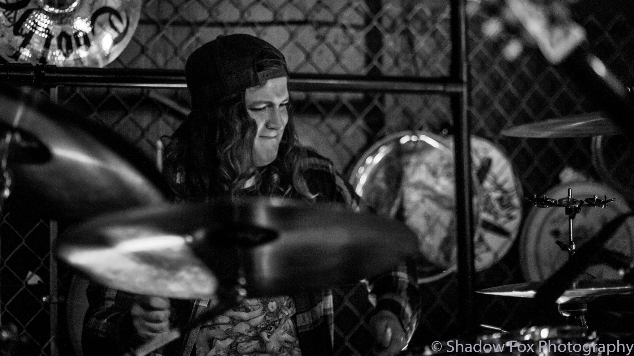 Faces Turned Ashen playing at Tailgators in Cedar Rapids, Iowa