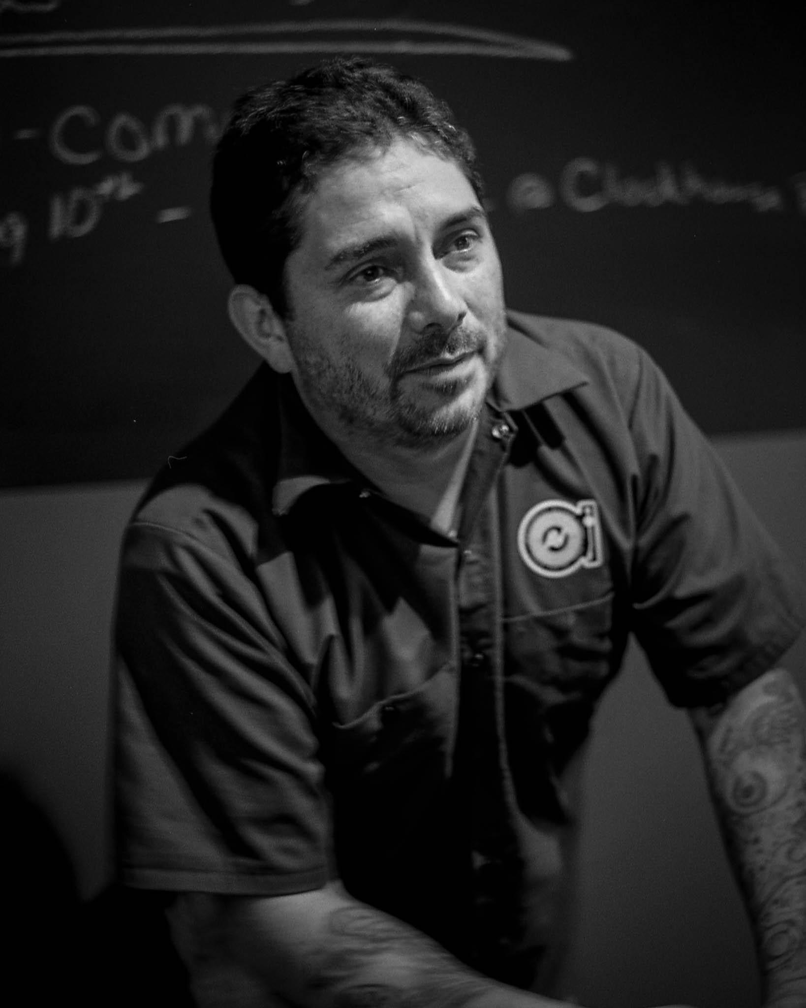 Jeremy, owner of Analog Vault