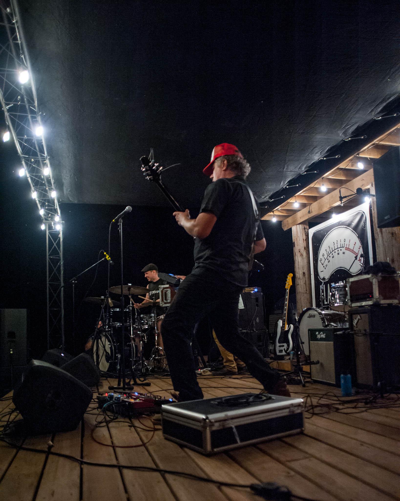 Dead Rider playing Grey Area 2018 at Flat Black Studios near Iowa City