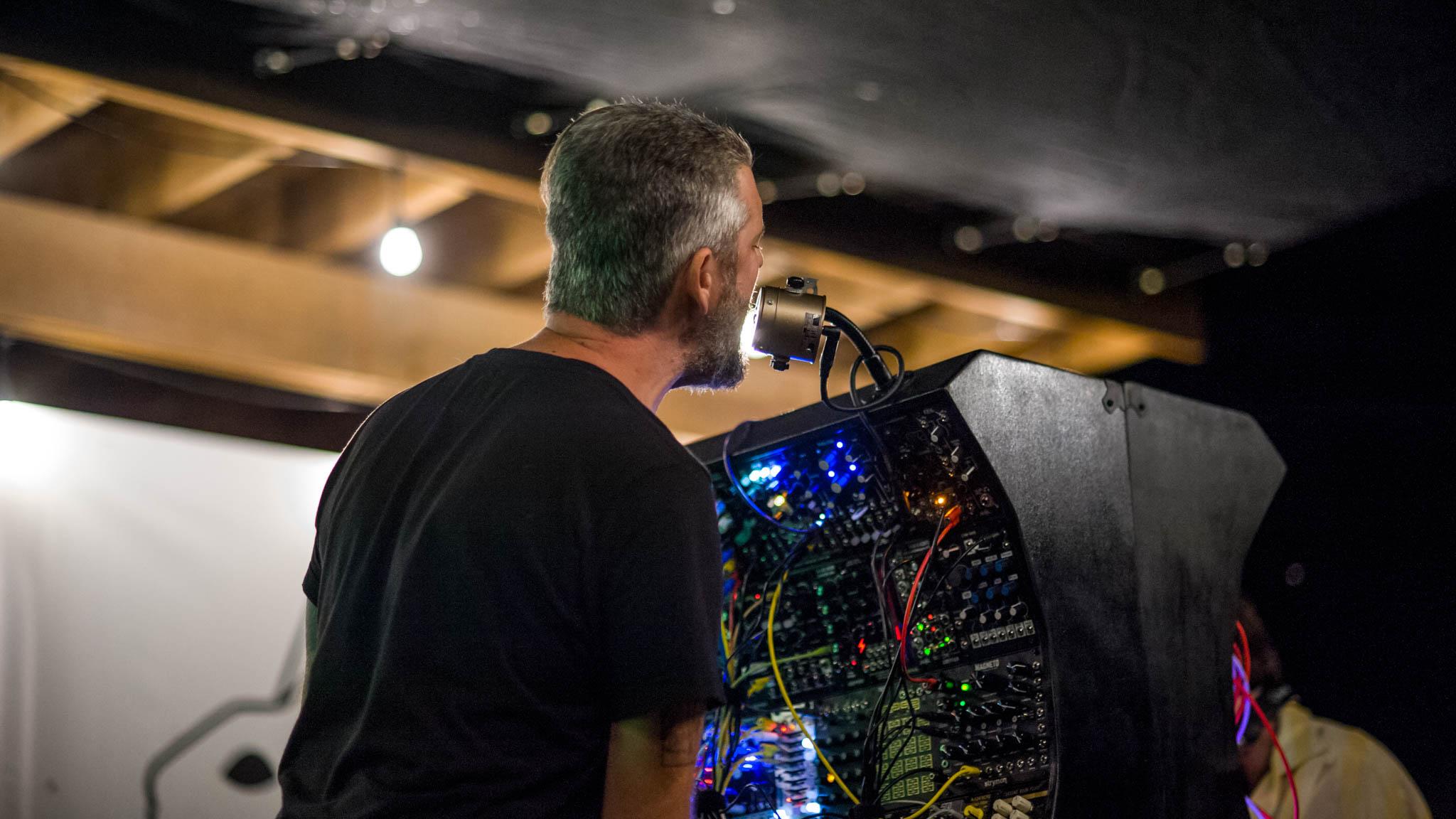 Sinner Frenz playing Grey Area 2018 at Flat Black Studios near Iowa City