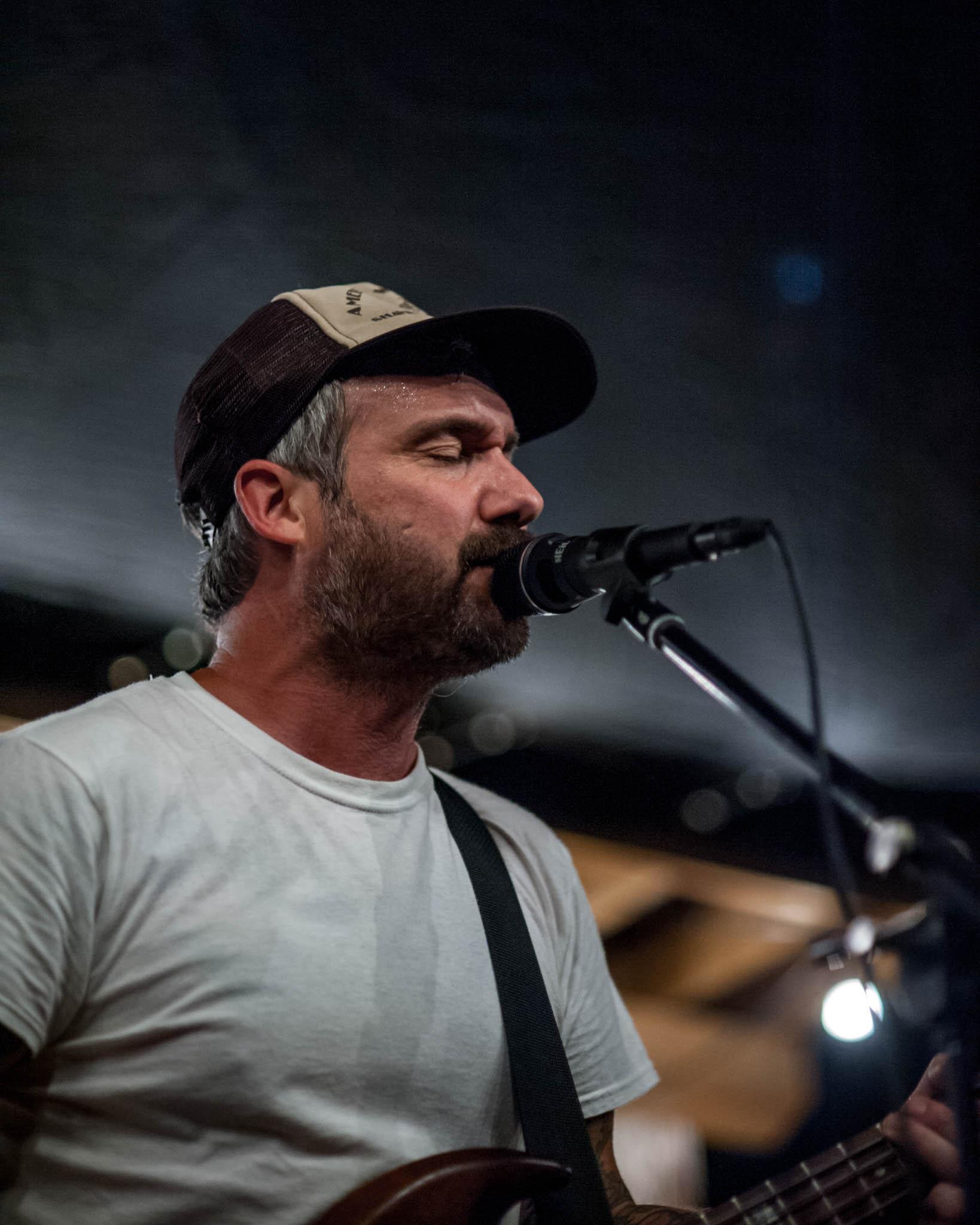 William Elliot Whitmore playing Grey Area 2018 at Flat Black Studios near Iowa City