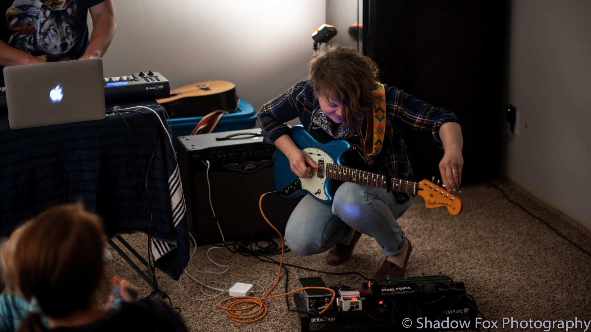 Dead Birds playing the first show we booked at our new house