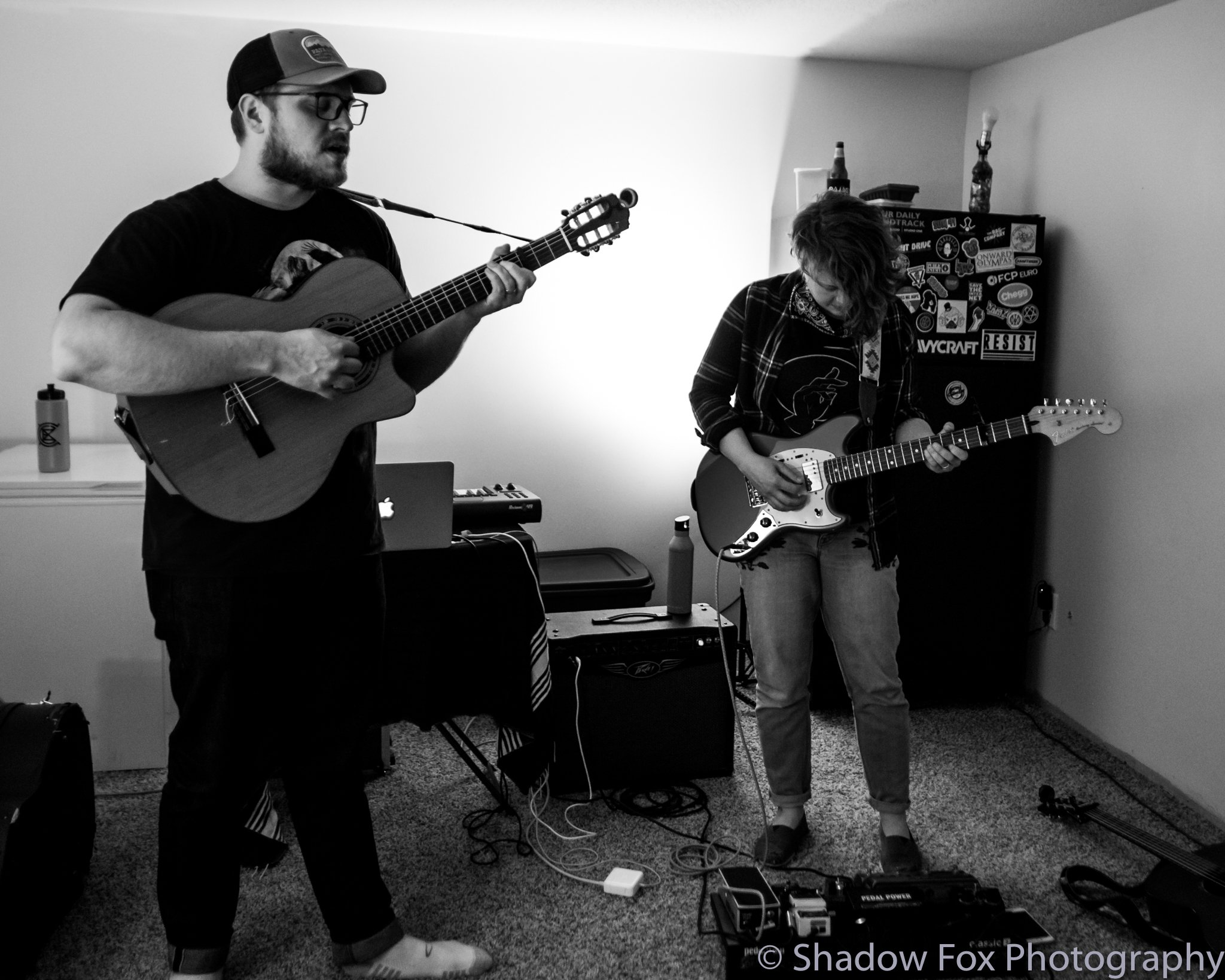 Qajaq playing the first show we booked at our new house