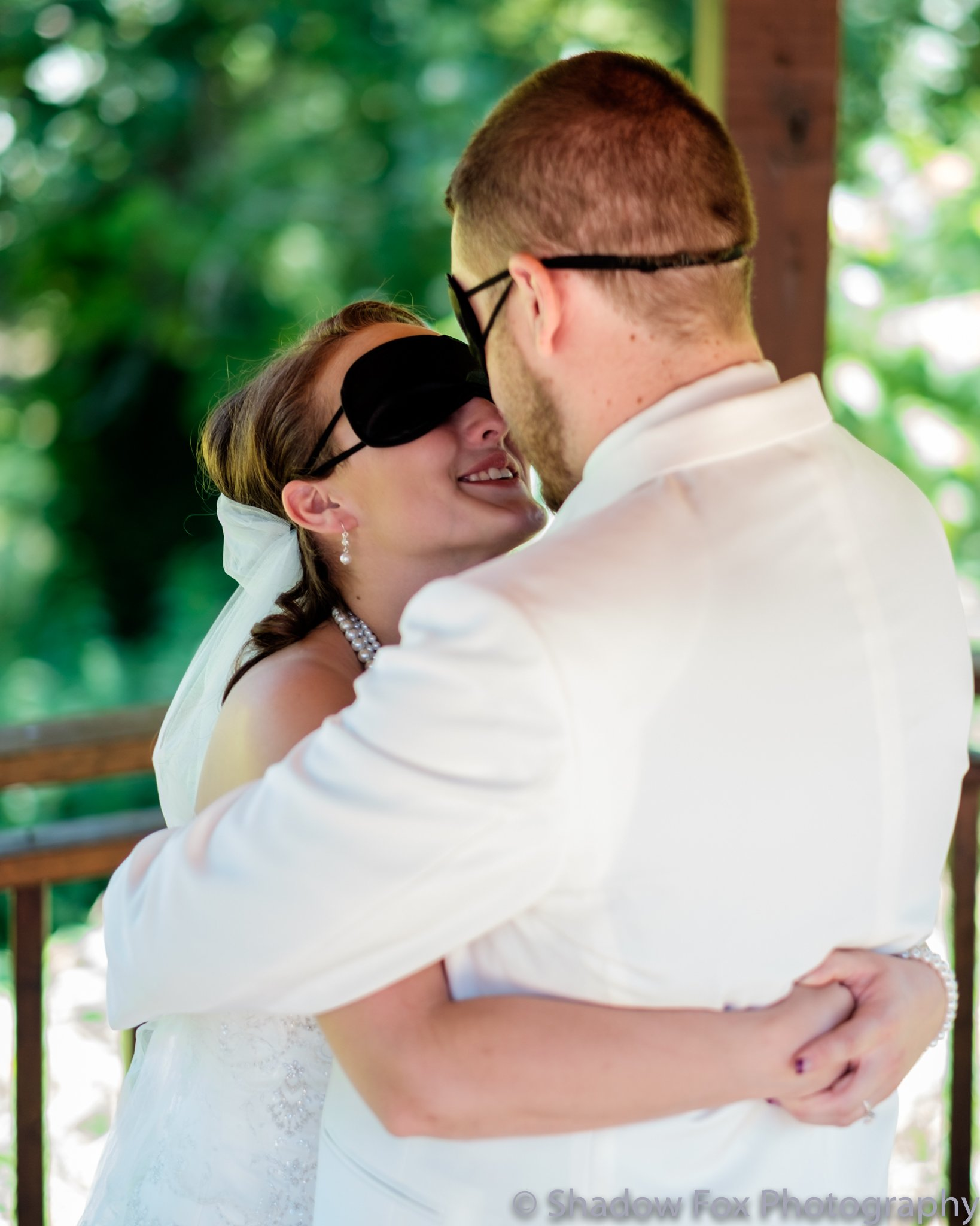 Candid first look wedding photography